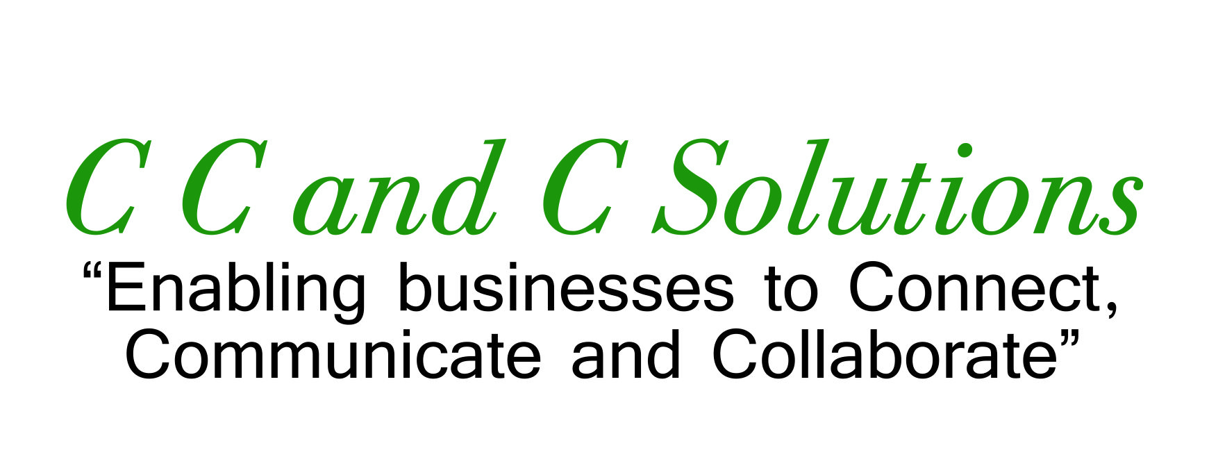 CC and C Solutions Logo